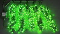 Светодиодная гирлянда на деревья ЛУЧ-5 зеленый (Каучук)