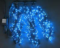 Светодиодная гирлянда для украшения деревьев ЛУЧ-3 синий (Каучук)