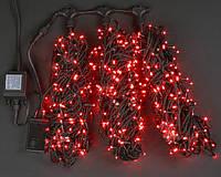 Светодиодная гирлянда для украшения деревьев ЛУЧ-3  красный (Каучук)