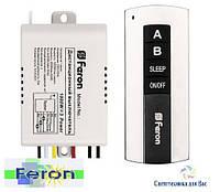 Дистанционный выключатель с пультом ДУ Feron TM-75 (2 канала по 1000Вт)