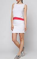 Женское платье Philippe Matignon, цвет белый р. S/М