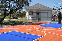 Напольное резиновое покрытие для спортивных игровых площадок, фото 1