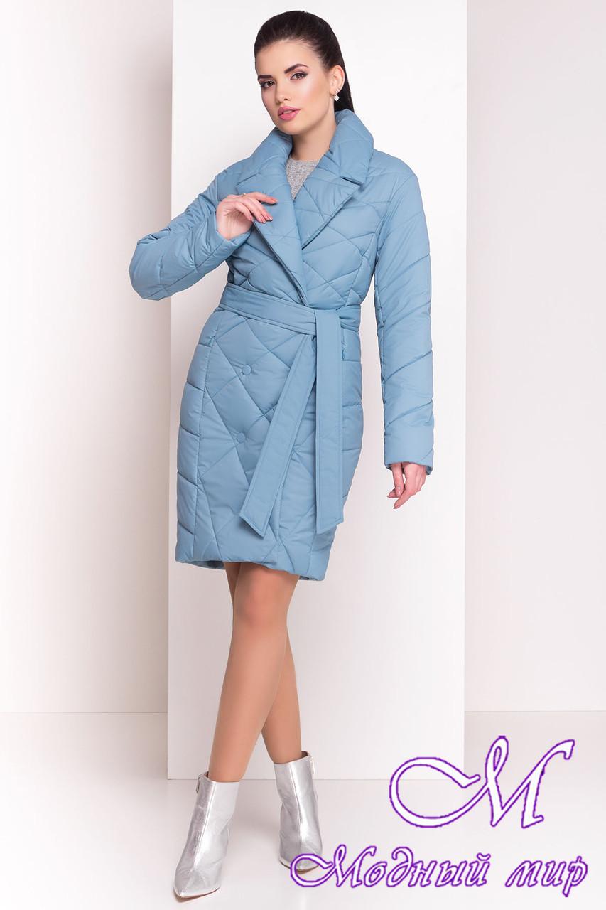 """Женское стеганое весеннее пальто (р. XS, S, M, L, XL) арт. """"Сандра 4526"""" - 21524"""