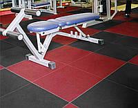 Напольное резиновое покрытие для тренажерного зала и спортивных залов