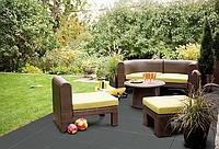 Резиновая плитка для ландшафтного дизайна дачи и сада