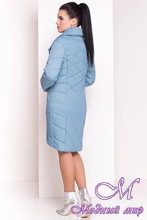 "Женское стеганое весеннее пальто (р. XS, S, M, L, XL) арт. ""Сандра 4526"" - 21524, фото 2"