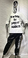 "Женский худи ""New hope"" Love Kan (белый)"