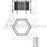 Батут-манеж Leco-IT Home диам. 180 см., фото 3