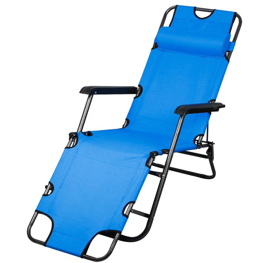 Шезлонг пляжный Welfull blue