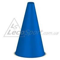 Конус для разметки полей и трасс 20 см синий