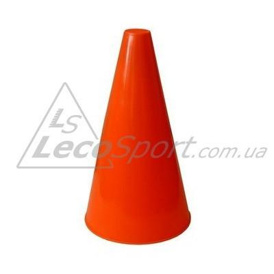 Конус для разметки полей и трасс 20 см флуоресцентный оранжевый