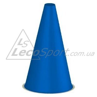 Конус для разметки полей и трасс 24 см синий