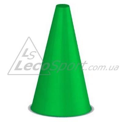Конус для разметки полей и трасс 24 см зеленый