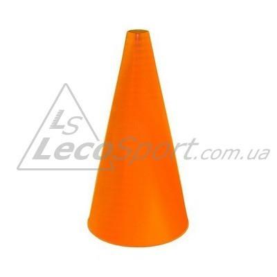 Конус для разметки полей и трасс 24 см флуоресцентный оранжевый