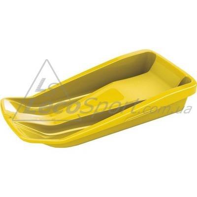Санки 80 х 30 см желтые