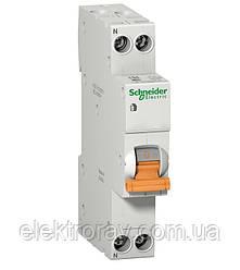 Дифавтомат АД63К 1P+N 10А 30мА Schneider Electric