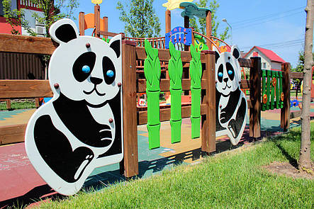 """Секция ограждения """"Панда"""" правая , фото 2"""