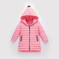 Демисезонное пальто для девочки. Размеры 110-150.