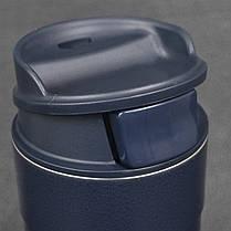 Термокружка синій 0,47 L оригінал CLASSIC ONE HAND Stanley (Стенлі) 10-01394-014, фото 2