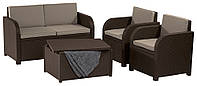 Комплект садовой мебели Modena set, коричневый