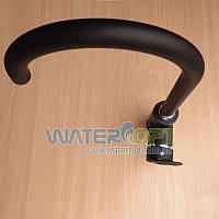 Смеситель для кухни черный Hi-non KXA-FD-306