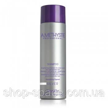 Шампунь для седых и осветленных волос Amethyste Silver Shampoo