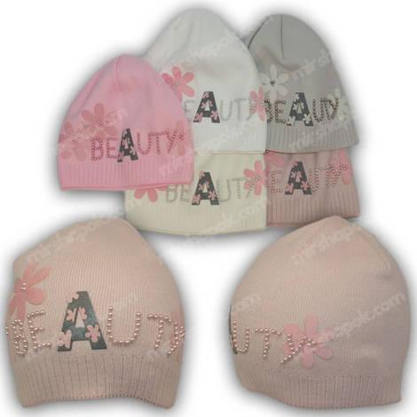 Детские вязаные шапки для девочек a512c52951280