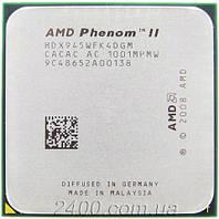 Процесор AMD Phenom II X4 945 3.0 GHz 2000MHz (HDX945WFK4DGM) Socket AM2+/AM3 95W