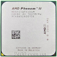 Процессор AMD Phenom II X4 945 3.0GHz 2000MHz (HDX945WFK4DGM) Socket AM2+/AM3 95W
