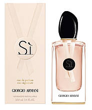 Женская парфюмированная вода Giorgio Armani Si Rose Signature II Eau de Parfum
