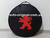 Чехол для запасного колеса на  Peugeot (Пежо) с логотипом.Изготовление 1 день.
