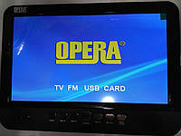 Автомобильный портативный телевизор с аккумулятором  13,8 TFT_  TV NS-1001