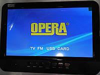 Автомобильный портативный телевизор с аккумулятором  13,8 TFT_  TV NS-1001 , фото 1