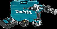 Ударный шуруповерт/дрель Makita XPH07MB 18V LXT Brushless 4.0Ah бесщеточный с чемоданом, фото 1