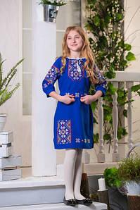 Детские цветные платья вышиванка