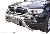 Кенгурятник без гриля BMW X5 E53 (Тамсан)