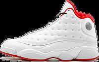 Баскетбольные кроссовки Nike Air Jordan 13 Retro 'History of Flight' White/Red