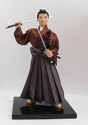 Японская кукла  Самурай Миямото Мусаси