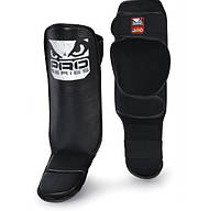 ЗАЩИТА ГОЛЕНИ BAD BOY LEATHER SHIN GUARD