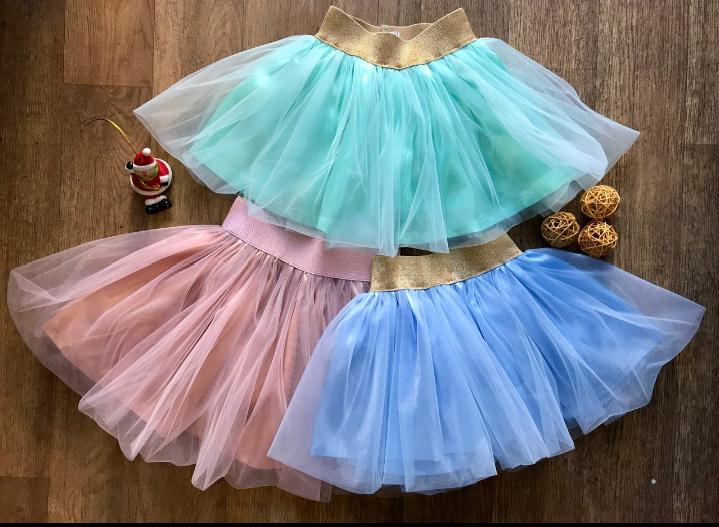 Фатиновая пышная детская юбка от производителя.
