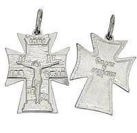 Серебряный крестик Спаси и Сохрани 1009кр.