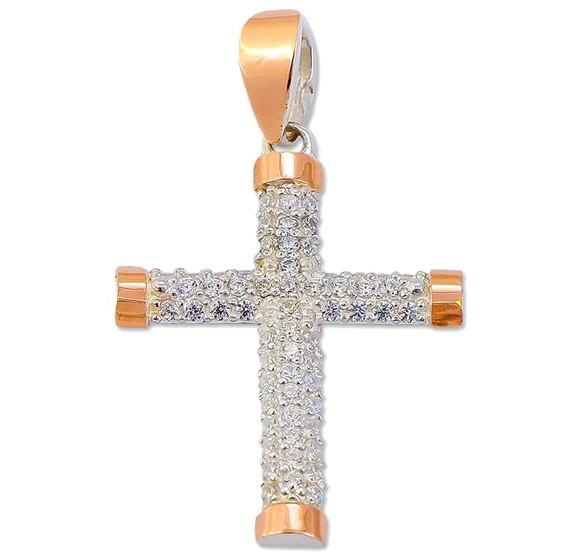 Серебряный крестик арт. 30551