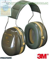 Протишумові навушники на головний дузі Peltor™ OPTIME™ III 3M-OPTIME3 F