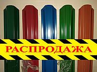 Штакетник металлический, евроштакетник, забор из металлических штакет