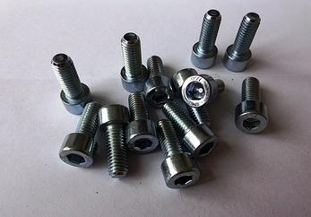 Винт М8 DIN 912, ISО 21269 с мелким шагом резьбы под внутренний шестигранник, фото 2