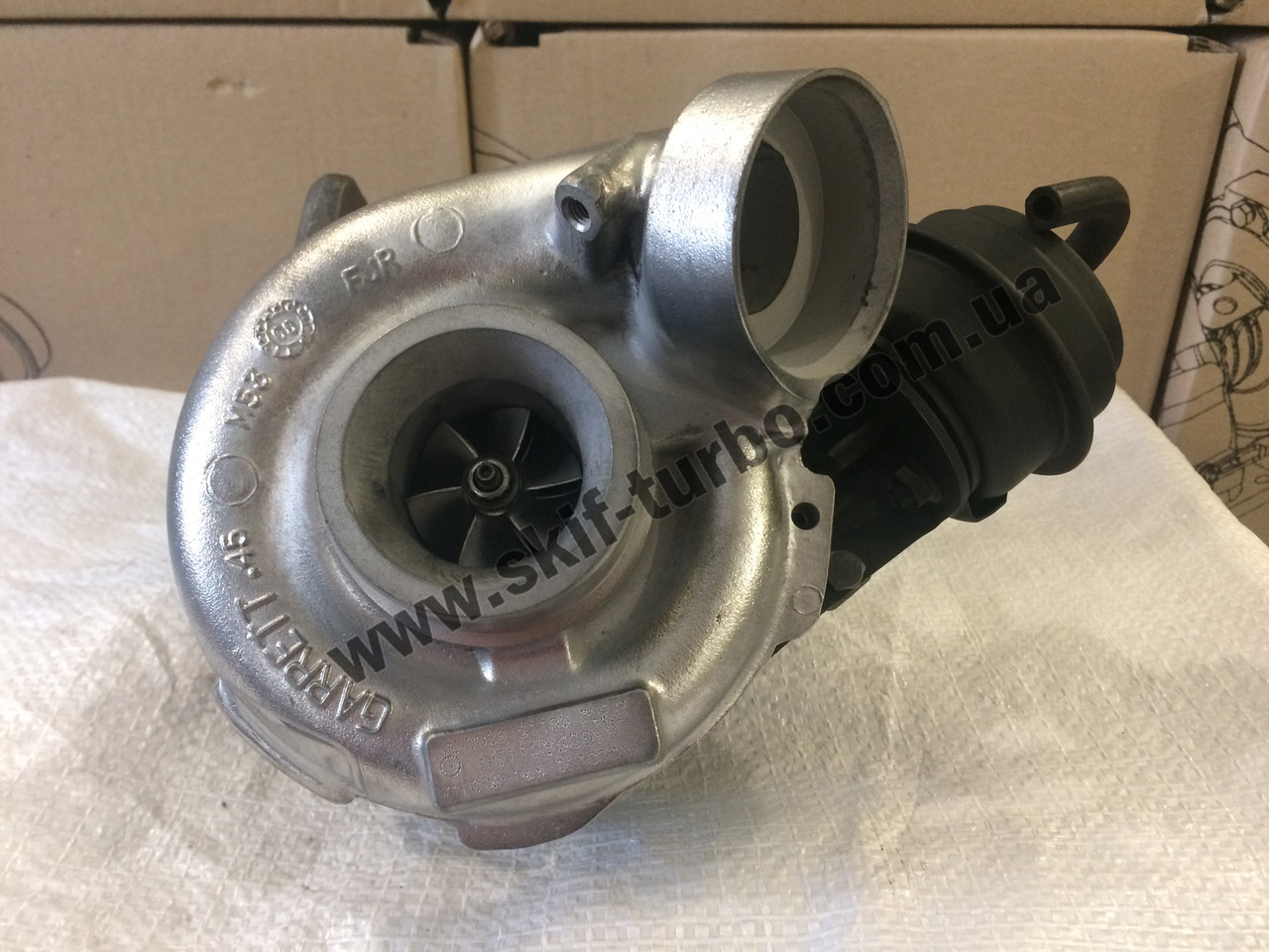 Восстановленный турбокомпрессор Mercedes C-Klasse 220 CDI