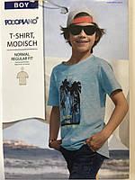 Детская футболка Pocopiano на мальчика 5-6, рост 116 см