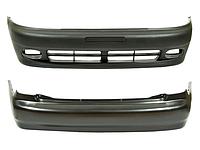 Накладка бампера, спойлер VAG 1T0805903A9B9 Caddy 04-