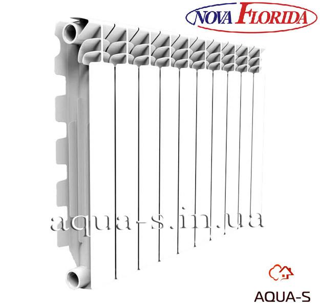 Радиатор алюминиевый Nova Florida Excelso A3 500/100 на 12 секций (16bar) Италия