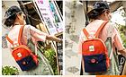 Рюкзак женский мини с пуговкой, фото 4